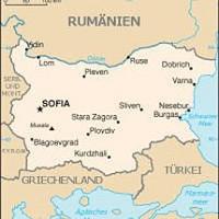 Geographische Lage Bulgariens